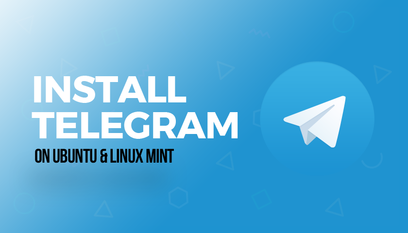 telegram ubuntu linux mint