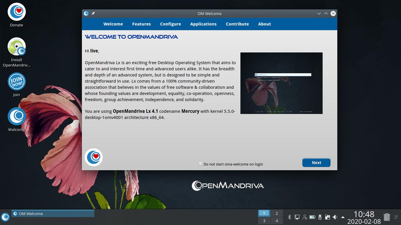 openmandriva 4.1