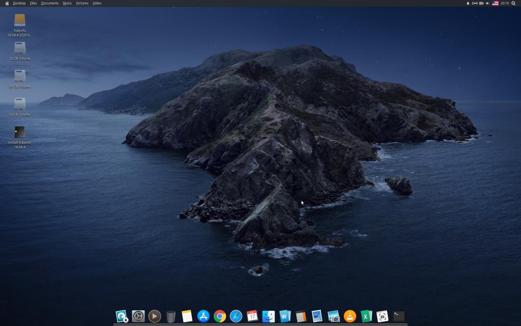 macbuntu 18.04 xfce