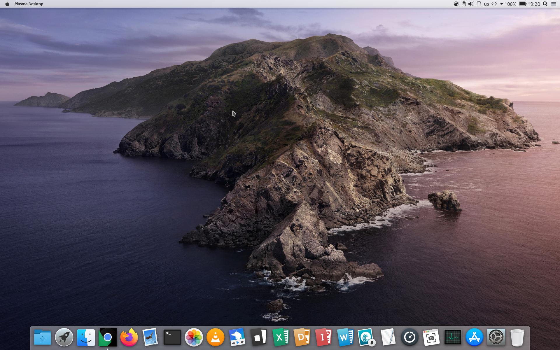 macbuntu 18.04 kde