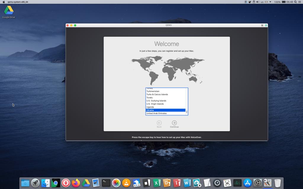 language macos install