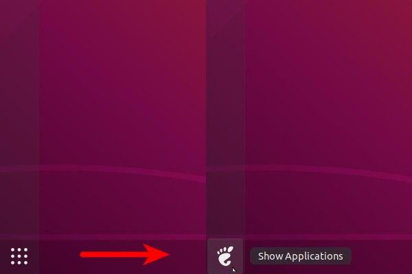 изменить значок меню ubuntu 20.04