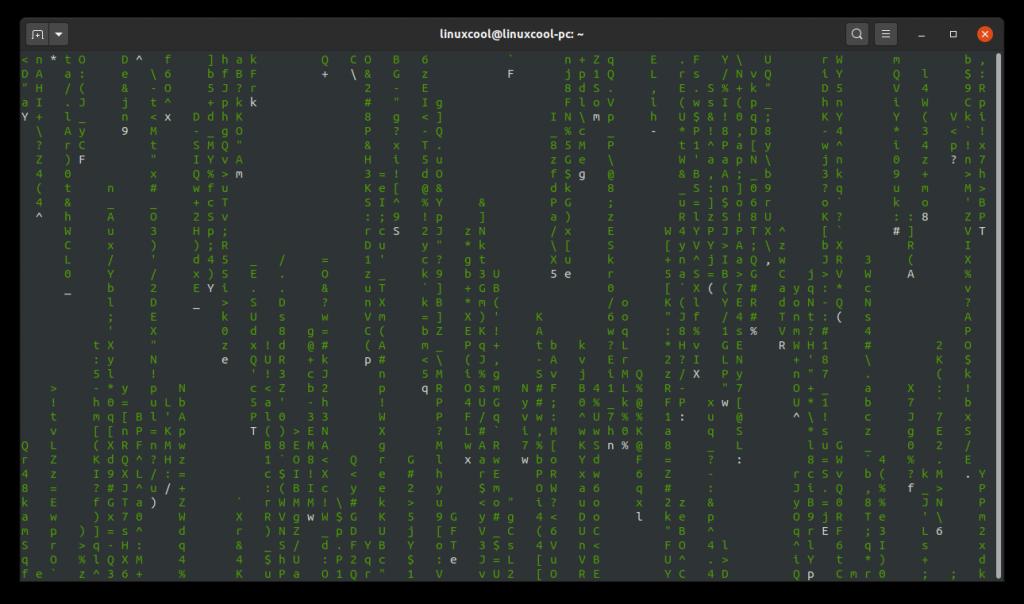 terminal matrix